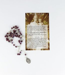 Rosary of Saint Joseph and prayer in 3 languages