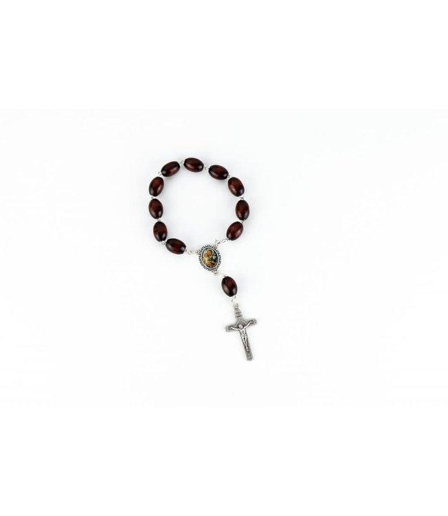 Saint Joseph car rosary