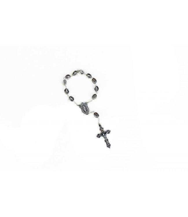 Miraculous Metal Decade Rosary