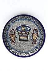 Ceramic Paten ''God Bless our Home''