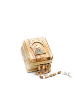 L'Oratoire Saint-Joseph du Mont-Royal Rosary and Storage Box in Olive Wood