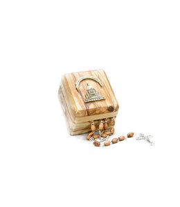 L'Oratoire Saint-Joseph du Mont-Royal Rosary and Storage Box in Olive Wood