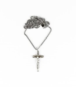McVan Silver chain and cross (McVan)
