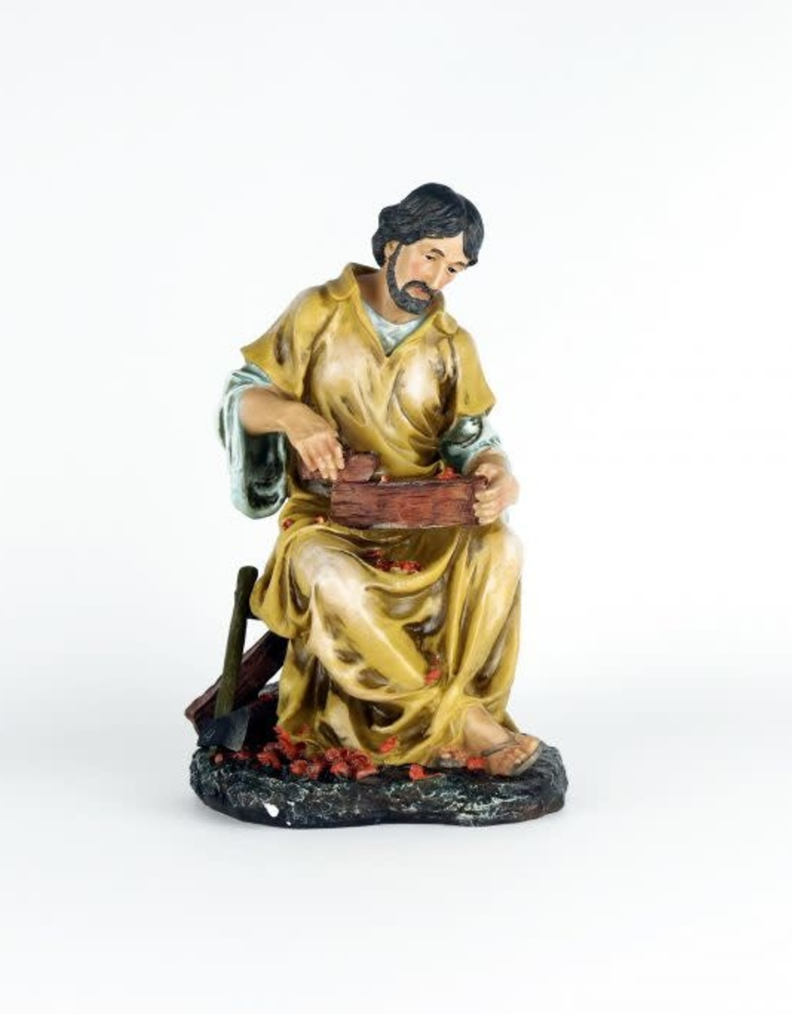 Statue Saint Joseph working wood