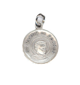 Médaille relique saint Martin de Porrès