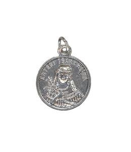 Médaille relique sainte Kateri Tekakwitha