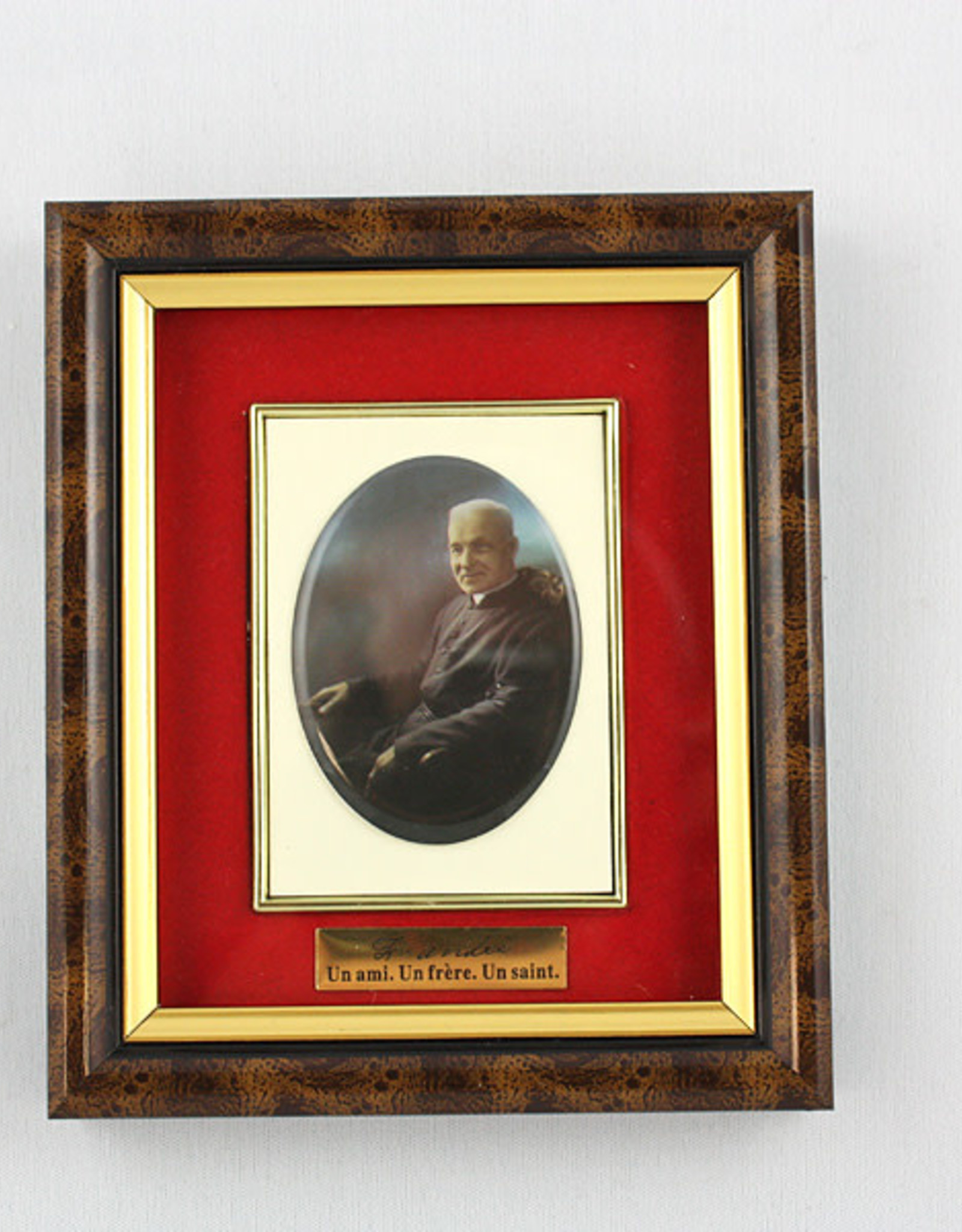 Saint Brother André photo frame (french)