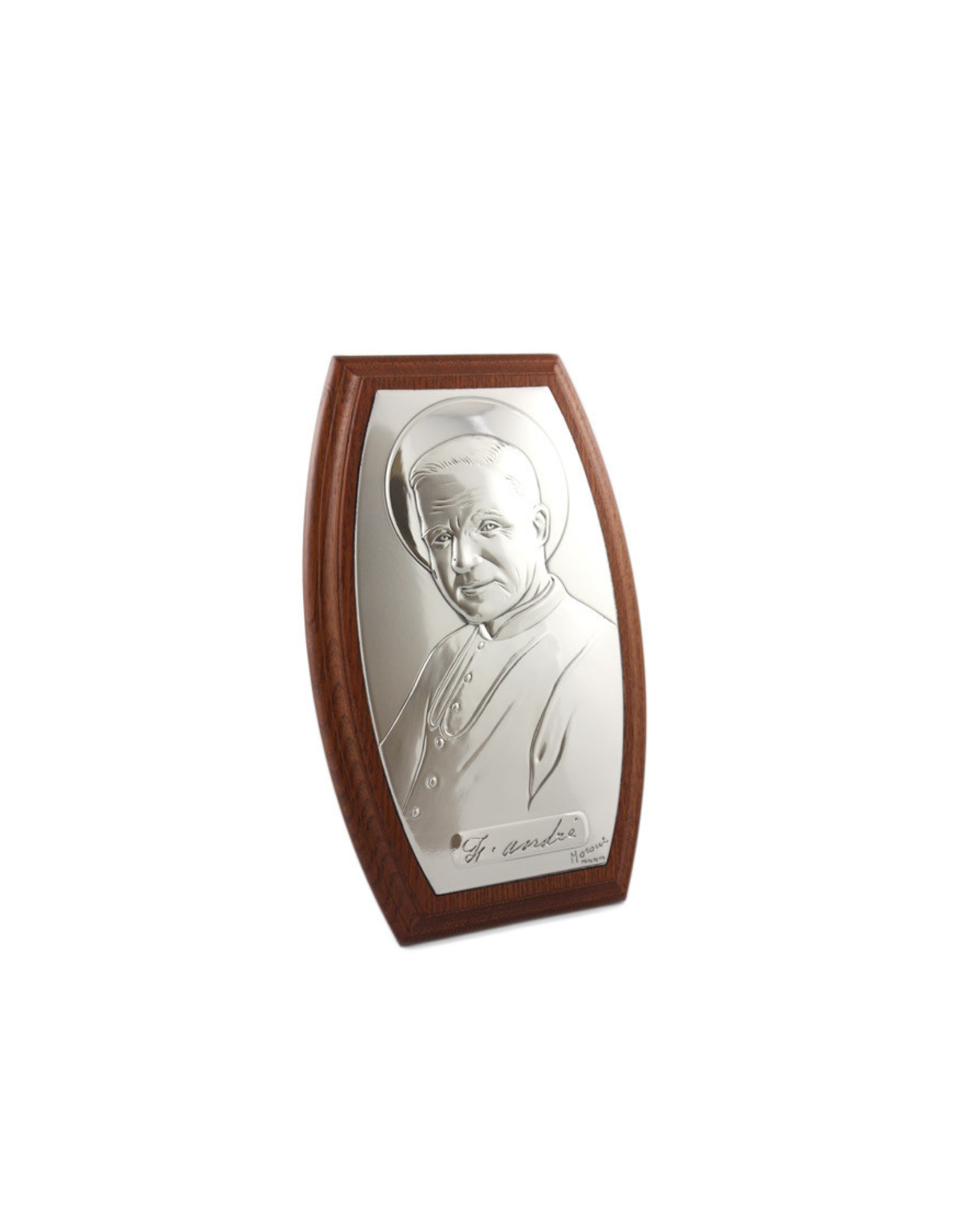 L'Oratoire Saint-Joseph du Mont-Royal Sterling silver frame of Saint Brother André