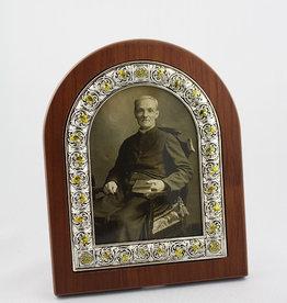 L'Oratoire Saint-Joseph du Mont-Royal Cadre saint frère André (sépia)