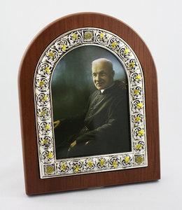 L'Oratoire Saint-Joseph du Mont-Royal Photo frame of Saint Brother André (color)