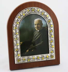L'Oratoire Saint-Joseph du Mont-Royal Photo frame of Saint Brother André (color)