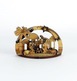Nativity Scene in olive wood - Bethlehem