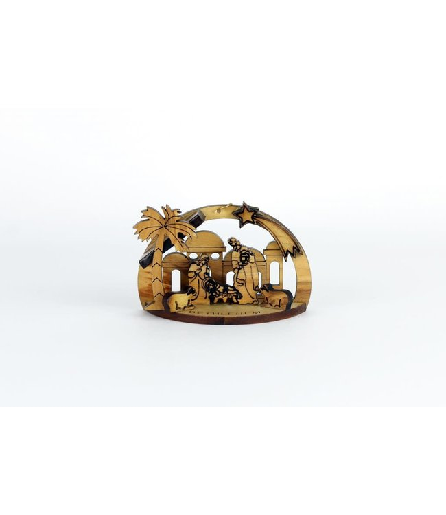 Nativity Scene in olive wood - Bethlehem
