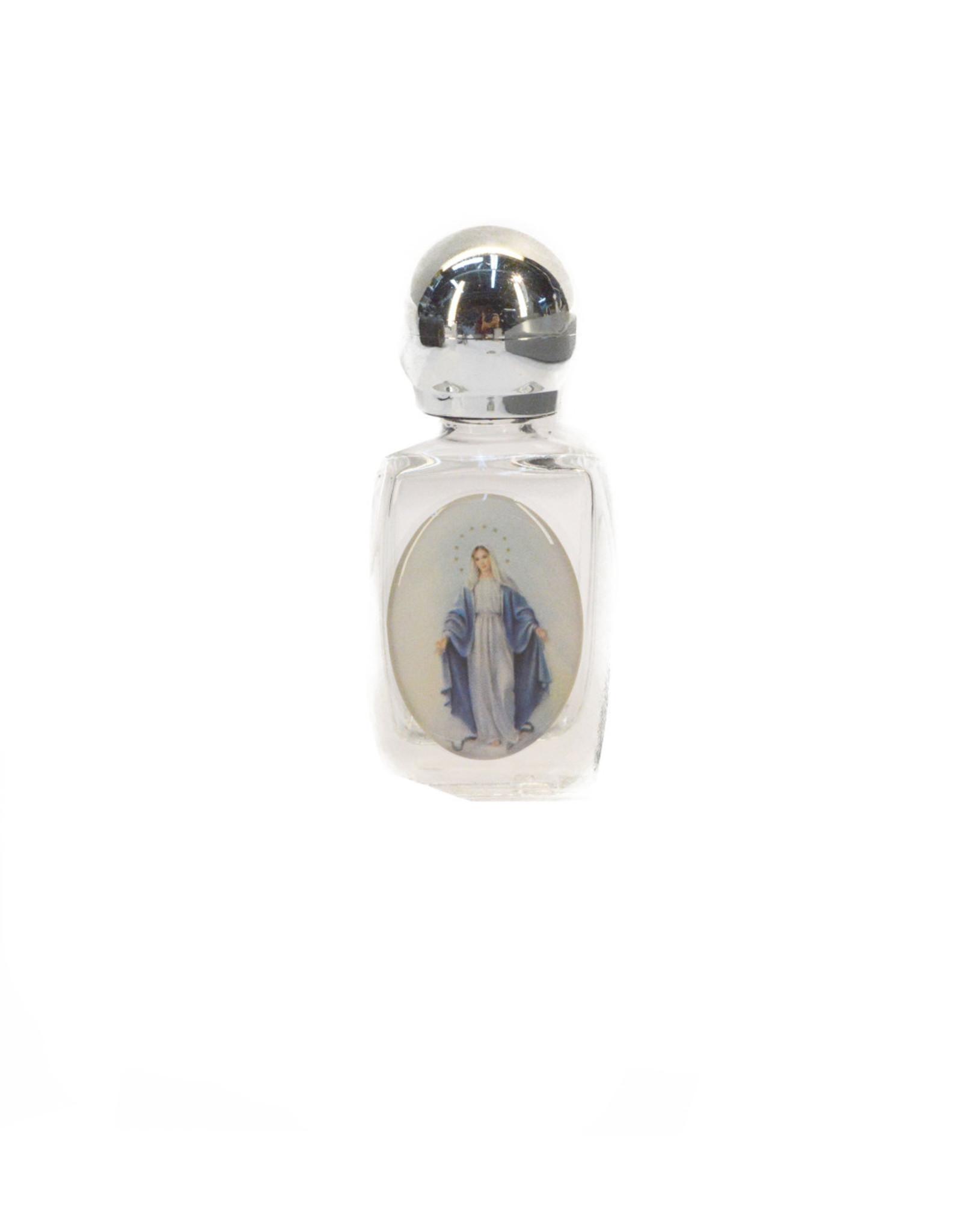 Bouteille pour eau bénite - Vierge Miraculeuse