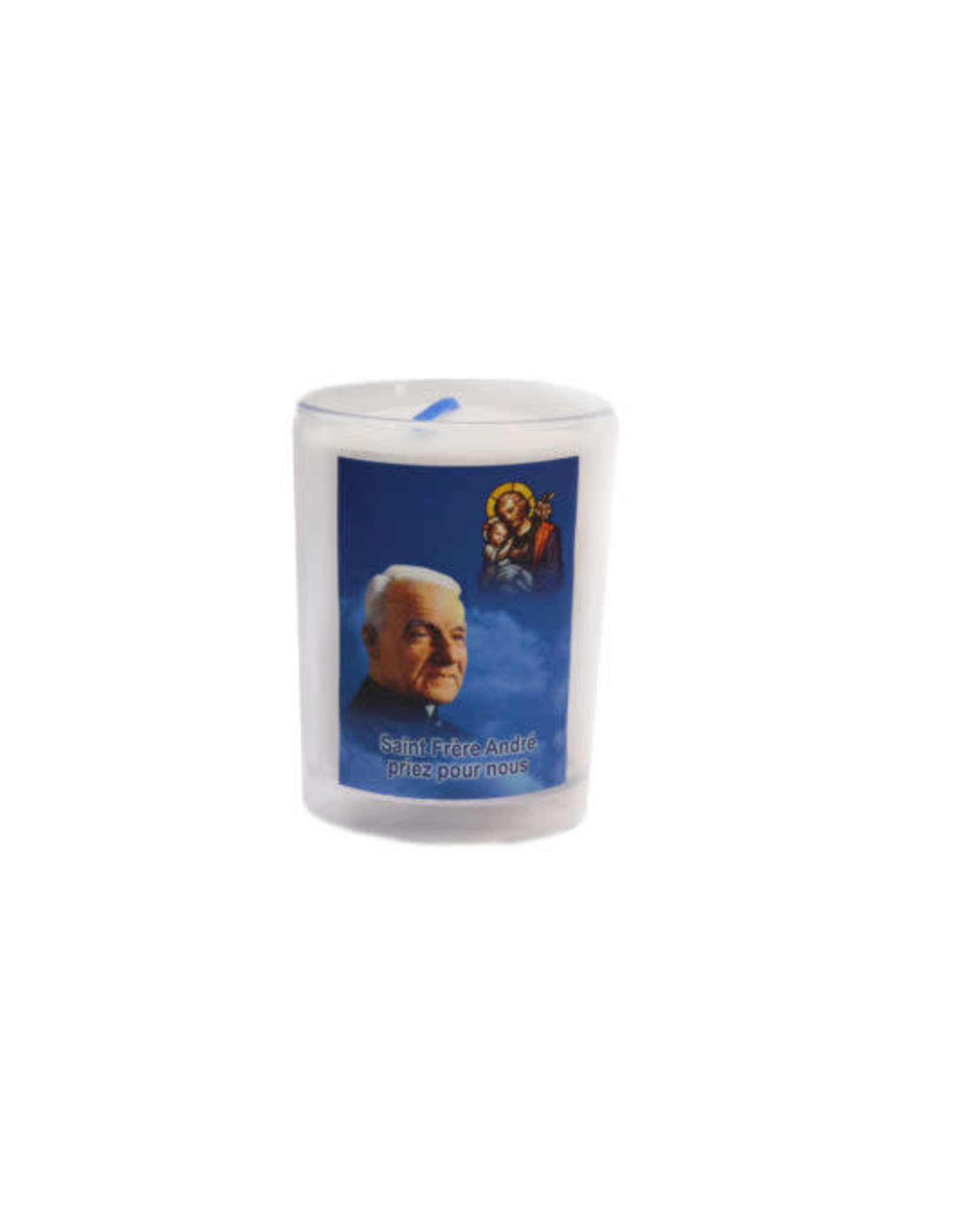 Chandelles Tradition / Tradition Candles Saint brother André votive candle (french)