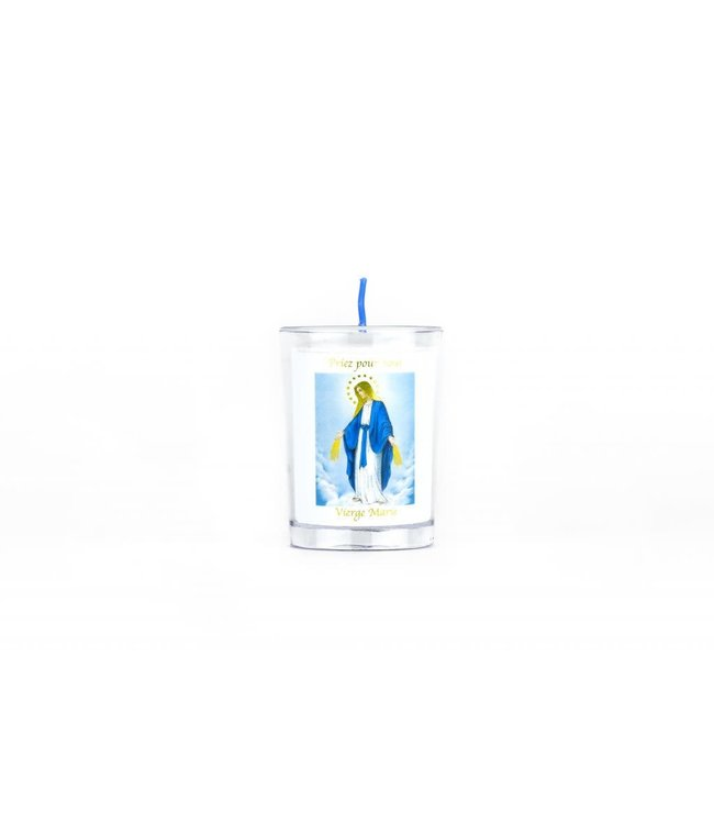 Chandelles Tradition / Tradition Candles Lampion de Vierge Marie