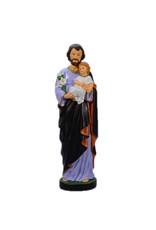 Statue of Saint Joseph and Child - 16 cm