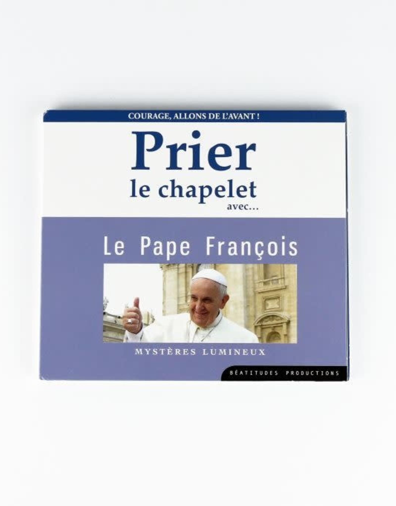Prier le Chapelet avec le Pape François (CD)