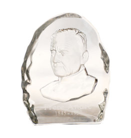 Glass souvenir of Saint Brother André