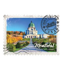 Wooden Magnet Oratory-Stamp