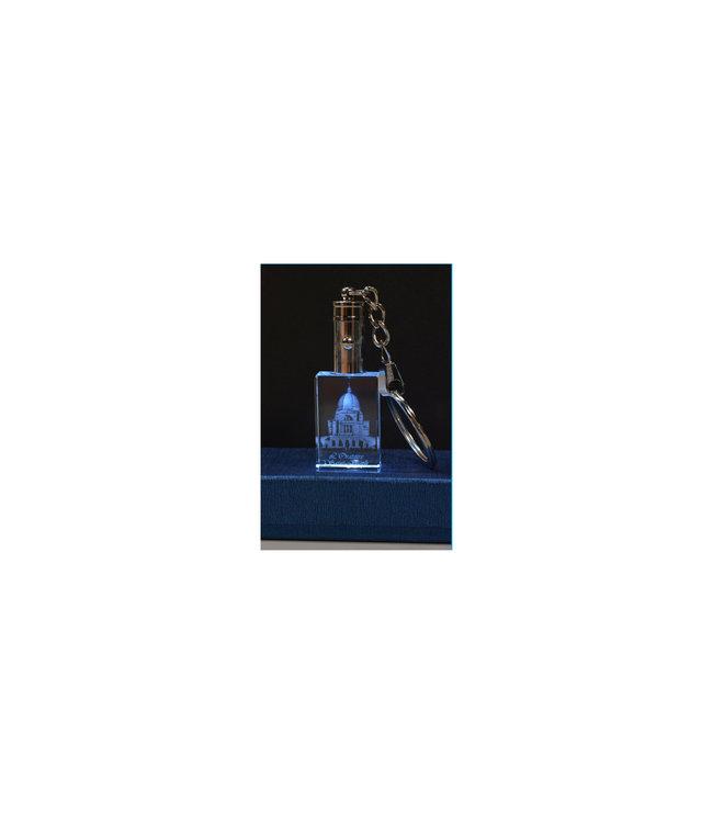Porte-clés DEL Oratoire gravé 3D