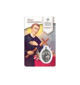 Carte médaille Saint Gérard Majella