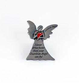 Attache Red Heart modern Guardian Angel (anglais)