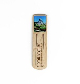 Wooden Bookmark Oratory Photo
