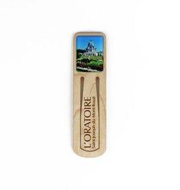 Wooden Bookmark Oratory Photo
