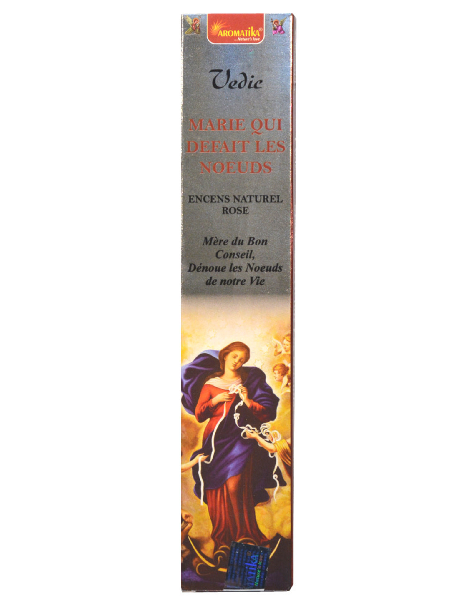 Aromatika Incense sticks Mary Undoer of Knots 12 pcs 15 g.
