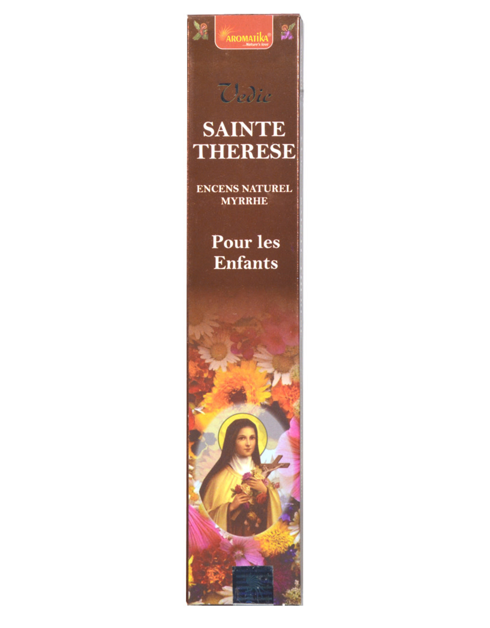 Aromatika Incense sticks-Saint Theresa 12 pcs 15 g.