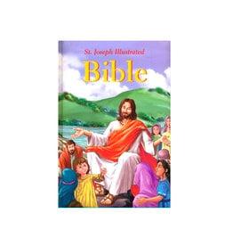 Catholic Book Publishing Saint-Joseph Illustrated Bible (anglais)