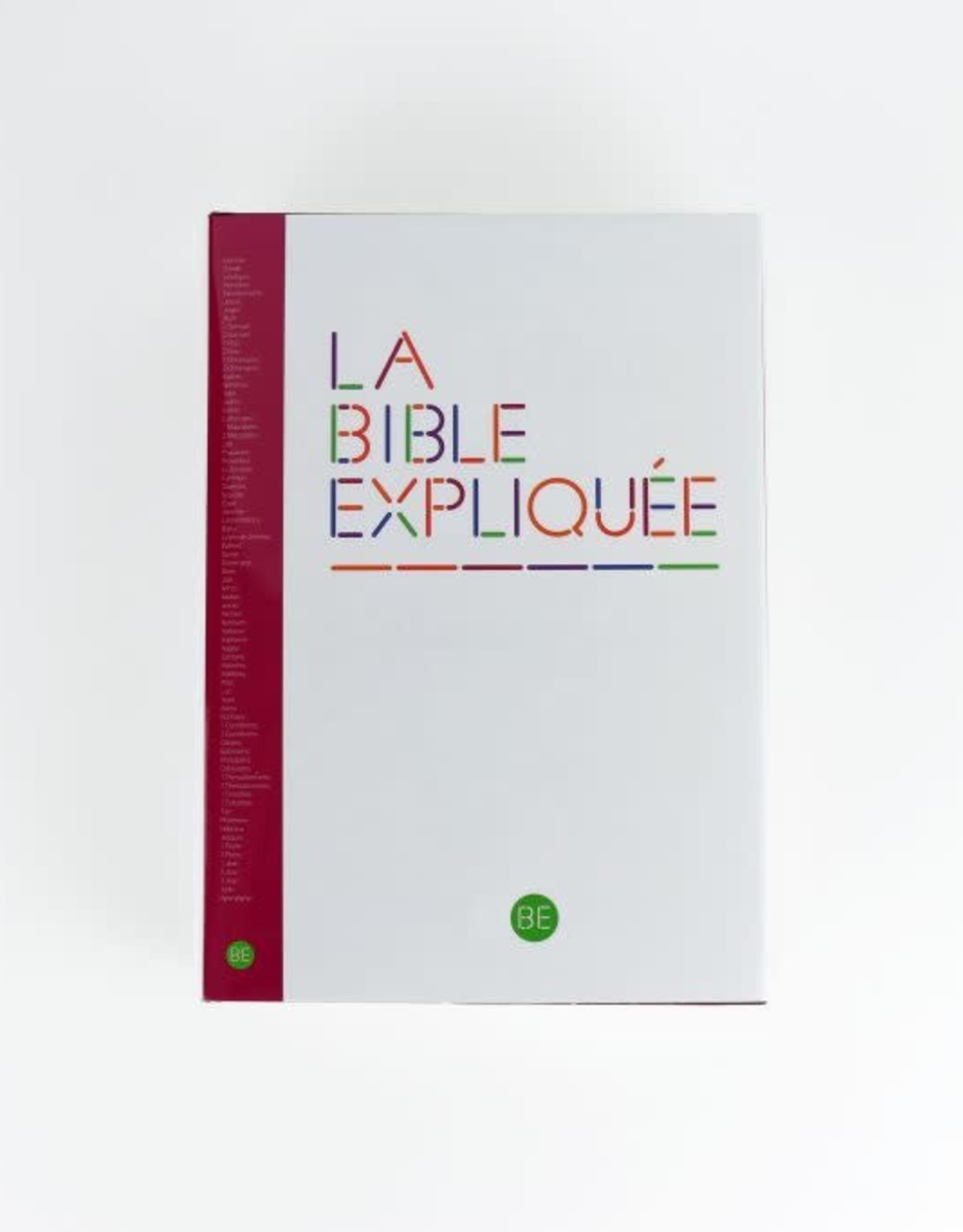 Société Biblique / Bible Society La Bible expliquée. Un livre essentiel pour comprendre notre civilisation (french)
