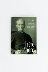 Éditions Médiaspaul Frère André : Une pensée par jour