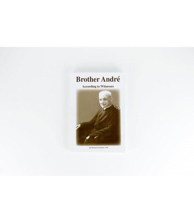 L'Oratoire Saint-Joseph du Mont-Royal Brother André. According to Witnesses