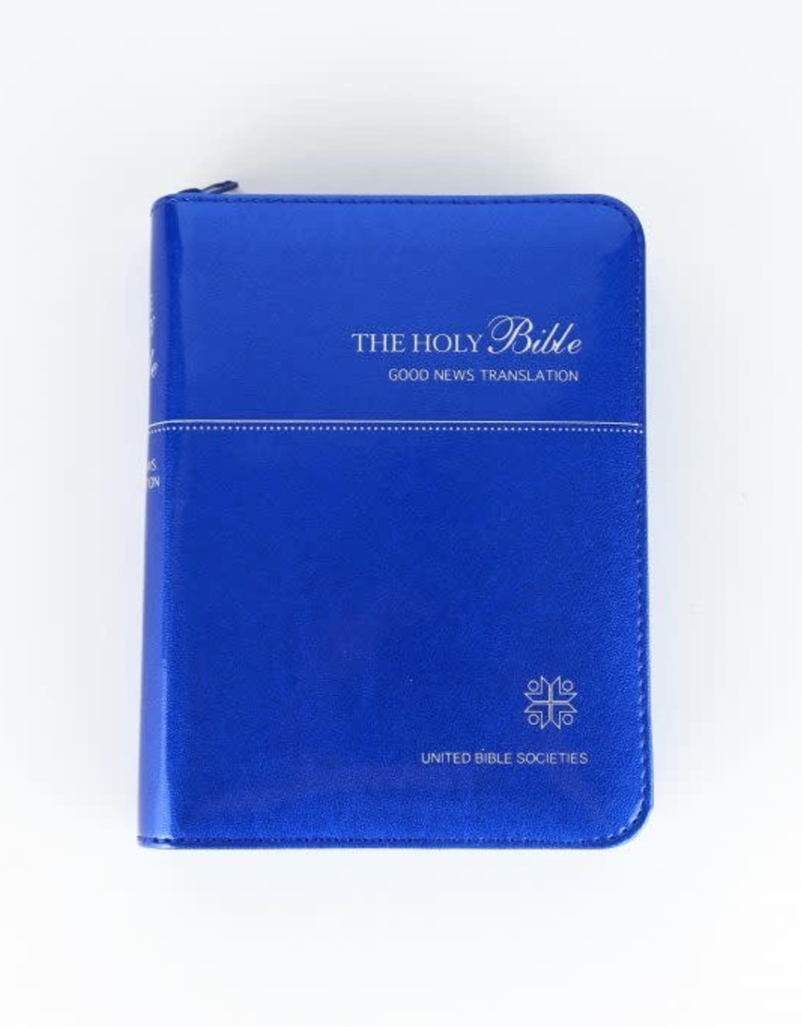 Société Biblique / Bible Society Holy Bible (blue cover)  Good News Translation