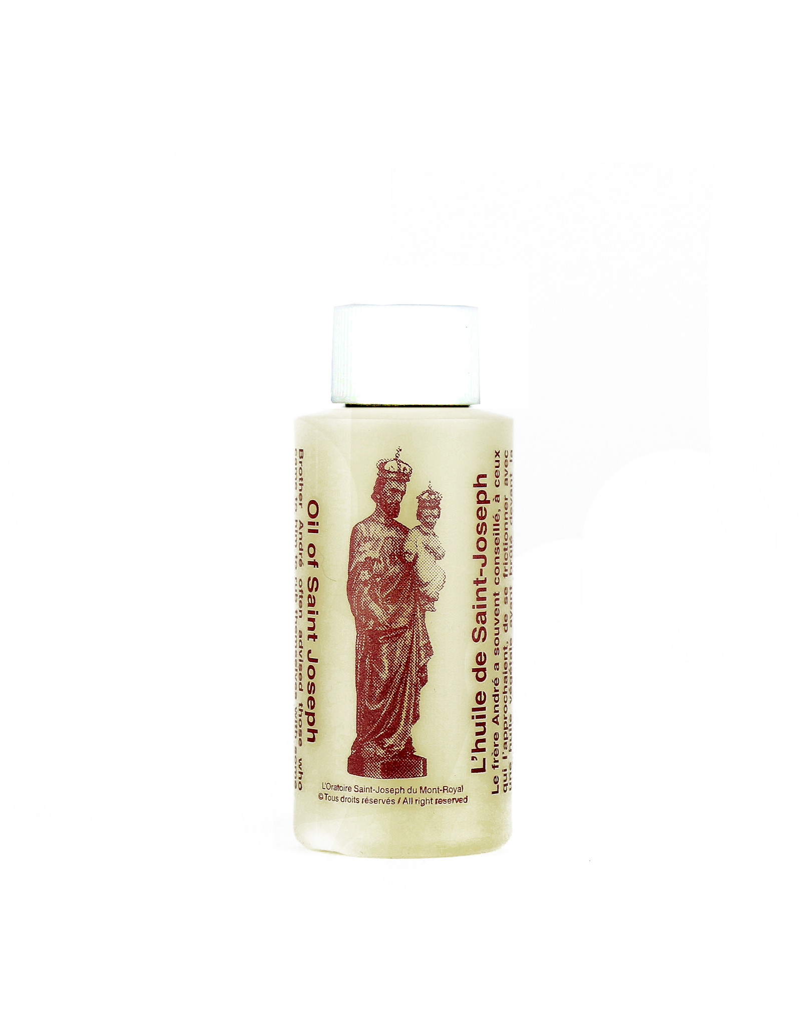 L'Oratoire Saint-Joseph du Mont-Royal Saint Joseph oil - 10 small bottles of 60 ml