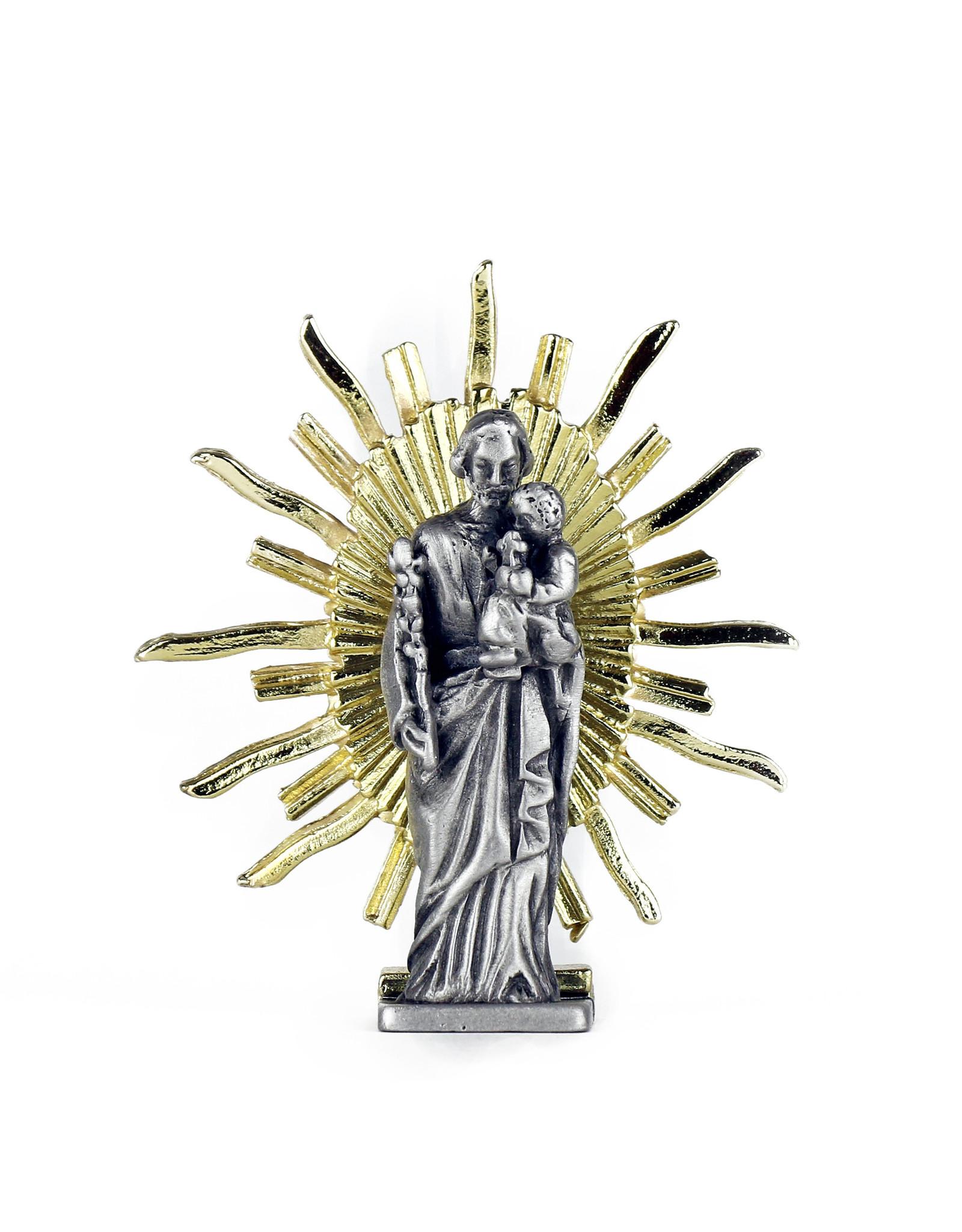 Statue Saint Joseph de la crypte (7.5cm)