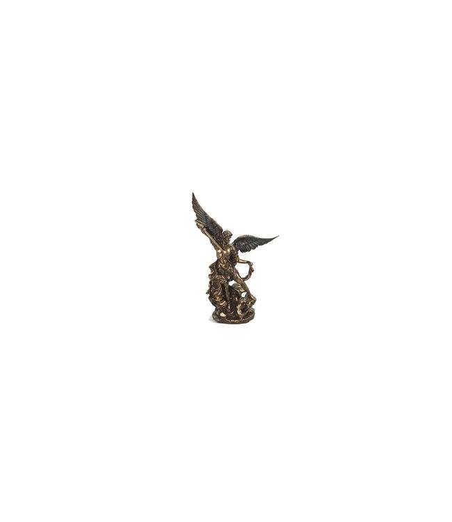 Collection Veronese Statue saint Michel résine bronze (23cm)