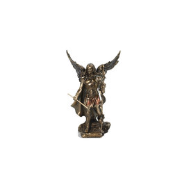 Collection Veronese Statue saint Gabriel résine bronze (23cm)