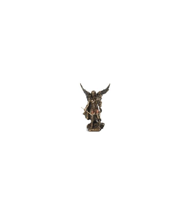 Collection Veronese Statue saint Gabriel résine bronze (23cm)