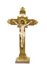 Jésus sur la croix (sur base)