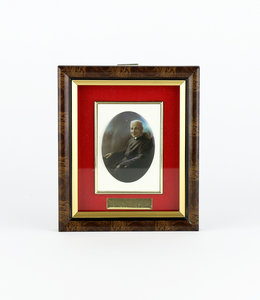 Saint Brother André picture frame (french)