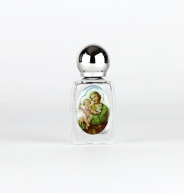 Glass bottle for Holy Water - Saint Joseph