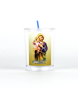 Chandelles Tradition / Tradition Candles Saint Joseph votive candle