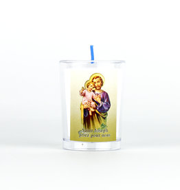 Chandelles Tradition / Tradition Candles Saint Joseph votive candle (french)
