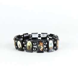 Bracelet of the saints in hematite