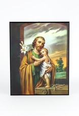 Plaque of Saint Joseph and the Christ Child