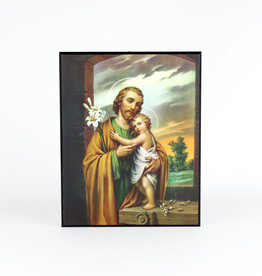 Plaque of Saint Joseph and the Christ Child
