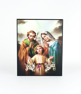 Plaque of the Holy Family